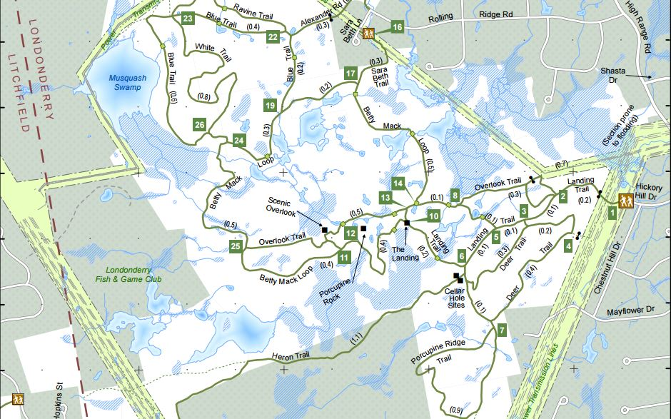 About The Cons Area Trails Londonderry Trailways